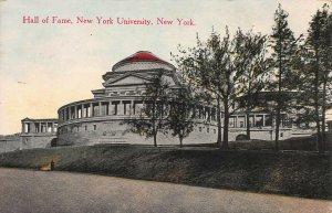 Hall of Fame, New York University, Bronx, N.Y.,  Early Postcard, Unused