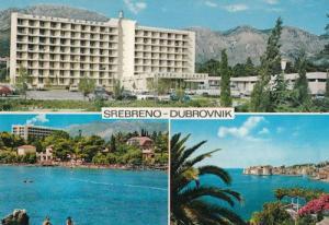 Srebreno Dubrovnik Hotel Orlando Croatia Postcard