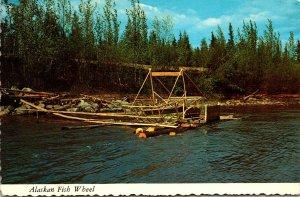 Alaska Typical Alaskan Fish Wheel 1976