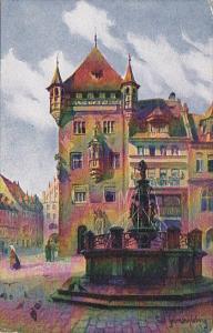 Germany Nuernberg Nassauer Haus 1918