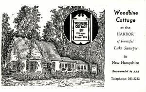 NH - Lake Sunapee. Woodbine Cottage