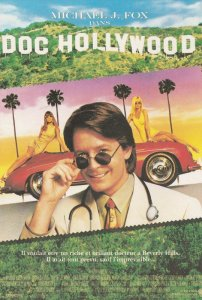 Doc Hollywood Michael J Fox Cinema Poster Postcard