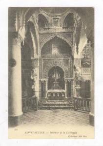 CONSTANTINE .- Interieur de la cathedrale. Algeria, PU-1904