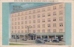 New York Syracuse Hotel Hilton