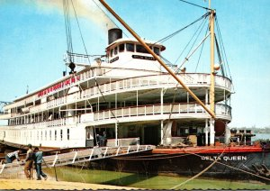 Mississippi The Delta Queen Mississippi River Excursion Steamer
