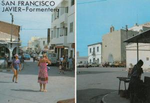 San Fransisco Javier Formentera Ibiza Postcard