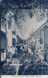 New York City Larue Restaurant Dining Room