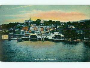 Postcard Fishkill on Hudson England Ferry Boat # 184