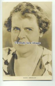b3325 - Film Actress - Marie Dressler - postcard by Film Weekly