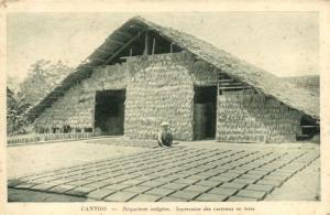CPA Vietnam Indochine COCHINCHINE Cantho - Briqueterie indigène (62197)