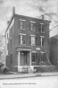 Civil War Post Cards Residence of Gen. Robert E Lee Richmond, Virginia, USA U...