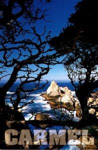California Carmel Point Lobos State Park Pinnacle Rock