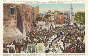 BETHLEHEM , Palestine , 00-10s ; Entrance of latin Patriarch
