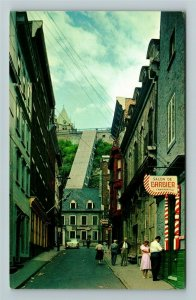 Quebec- Canada, Historic Old Quebec City, Chrome Postcard