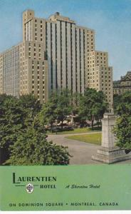 Exterior View, The Laurentien Hotel, A Sheraton Hotel, From Historic Dominion...