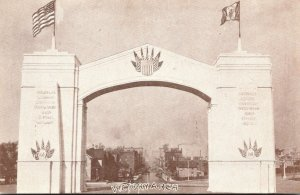 Iowa Des Moines Victory Arch 168th Home Coming