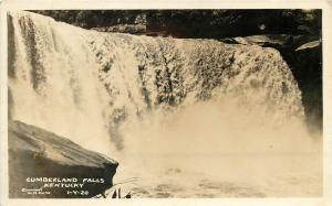 Cline RPPC Postcard 1-Y-20, Cumberland Falls KY unposted c1940