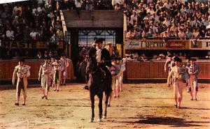 Partiendo Plaza Tarjeta Postal Bullfighting Mexico Unused
