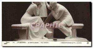 Old Postcard Salon Boyriven Le Trait d & # 39union