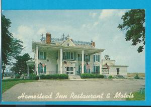 Post Card Homestead Inn Victorian Restaurant  Milan, Ohio  # 166