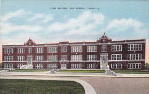 Texas Big Spring High School