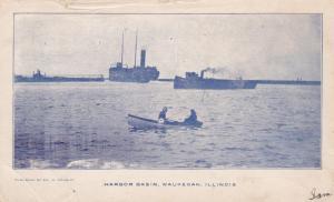 WAUKEGAN, Illinois, PU-1907; Harbor Basin