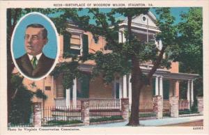 Virginia Staunton Birthplace Of Woodrow Wilson