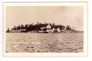 Real Photo, Yan-Kan-Uck, Camp, Georgian Bay, Ontario, JWB Series