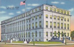 Iowa Des Moines Court House