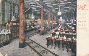 New York City Interior Childs' Place Restaurant 1907