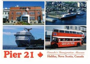 Large 5 X 7 inch, Pier 21, Canada`s Immigration Museum, Halifax, Nova Scotia