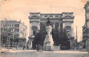 Estatua de Maria Cristina y Museo de Reproducciones Madrid Spain Unused