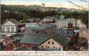 Bangor ME The Highlands c1906 Postcard E31 *As Is