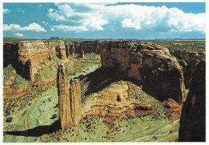 US Arizona. Spider Rock, Canyon De Chelley.  Mint Card.