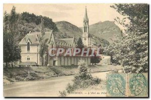 Old Postcard Lourdes L'Abri des Pelec