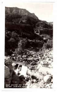 RPPC Oak Creek on State Highway 74 near Indian Head Station AZ Postcard *5F(3)11