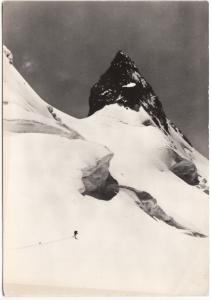 Ascension de la Bernina, 1961 used Postcard