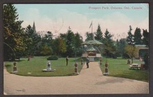 Prospect Park Oshawa, Ontario 1913 Used