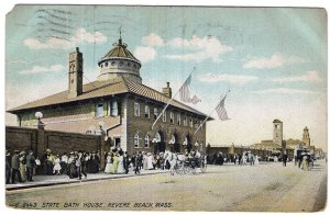 Revere Beach, Mass, State Bath House