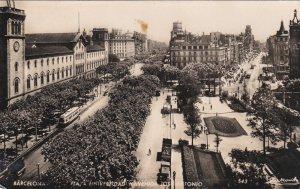 RP: BARCALONA , Spain , PU-1955 : Plaza Universidao