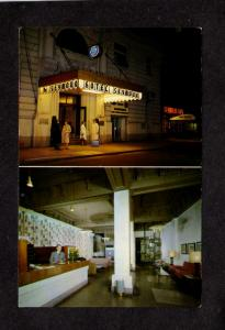 NY Hotel Seymour New York City NYC Postcard Lobby Entrance View
