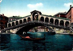 Italy Venezia Venice The Rialto Bridge