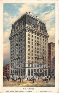 Emerson Baltimore MD 1918