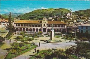 Peru Cuzco City Hall Building