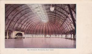 SALT LAKE CITY, Utah, pre-1907; Interior Pavillion