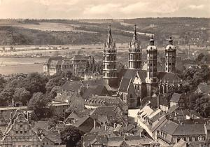 Naumburg Saale Blick zum Dom, Cathedral General view Cattedrale