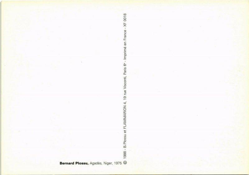 CPM BERNARD PLOSSU, AGADÉS, NIGER 1975 (d1976)