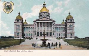 State Capitol Building Des Moines Iowa