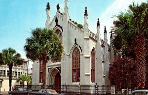 South Carolina Charleston The Huguenot Church French Protestant 1963