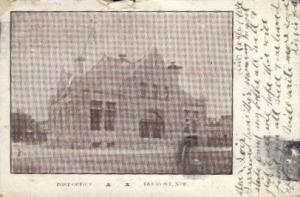 Post Office Fremont NE 1906